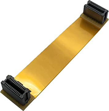 10cm Flexible SLI Crossfire Bridge Two PCI-E Slot Video Card Cable Connector