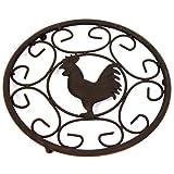 Metal Cockerel Trivet