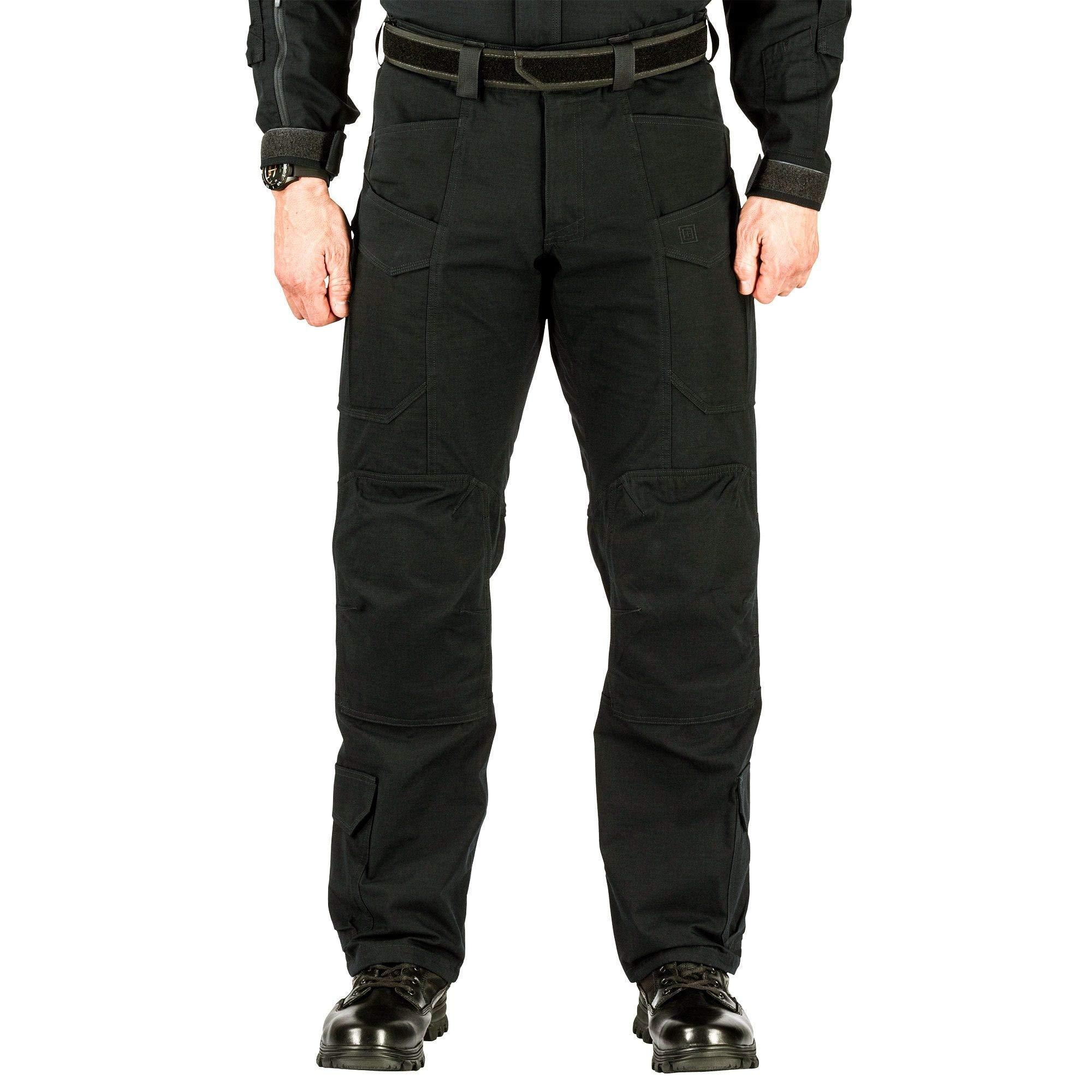 5.11 Pantalones de trabajo tácticos XPRT Tactical para hombre, tela tratada con teflón, tela de nylon Ripstop, estilo 74068