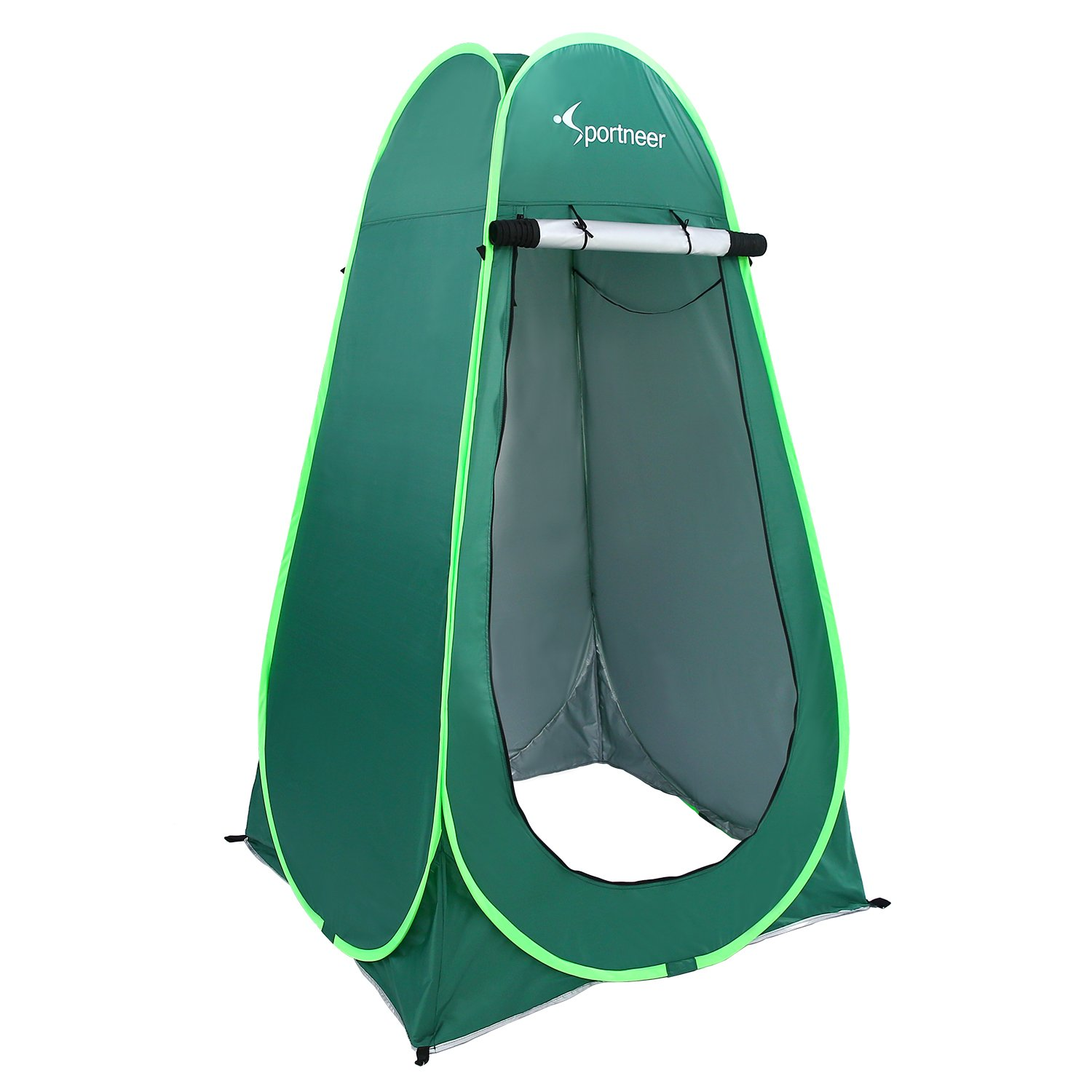 Sportneer 6.25' Portable Pop Up Changing Dressing Room Tent W/Carrying Bag for Camping Photo Shoot, Green by Sportneer