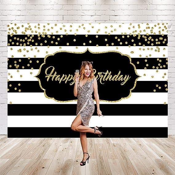 Fondo para fiesta de cumpleaños para adultos, fondo de rayas ...