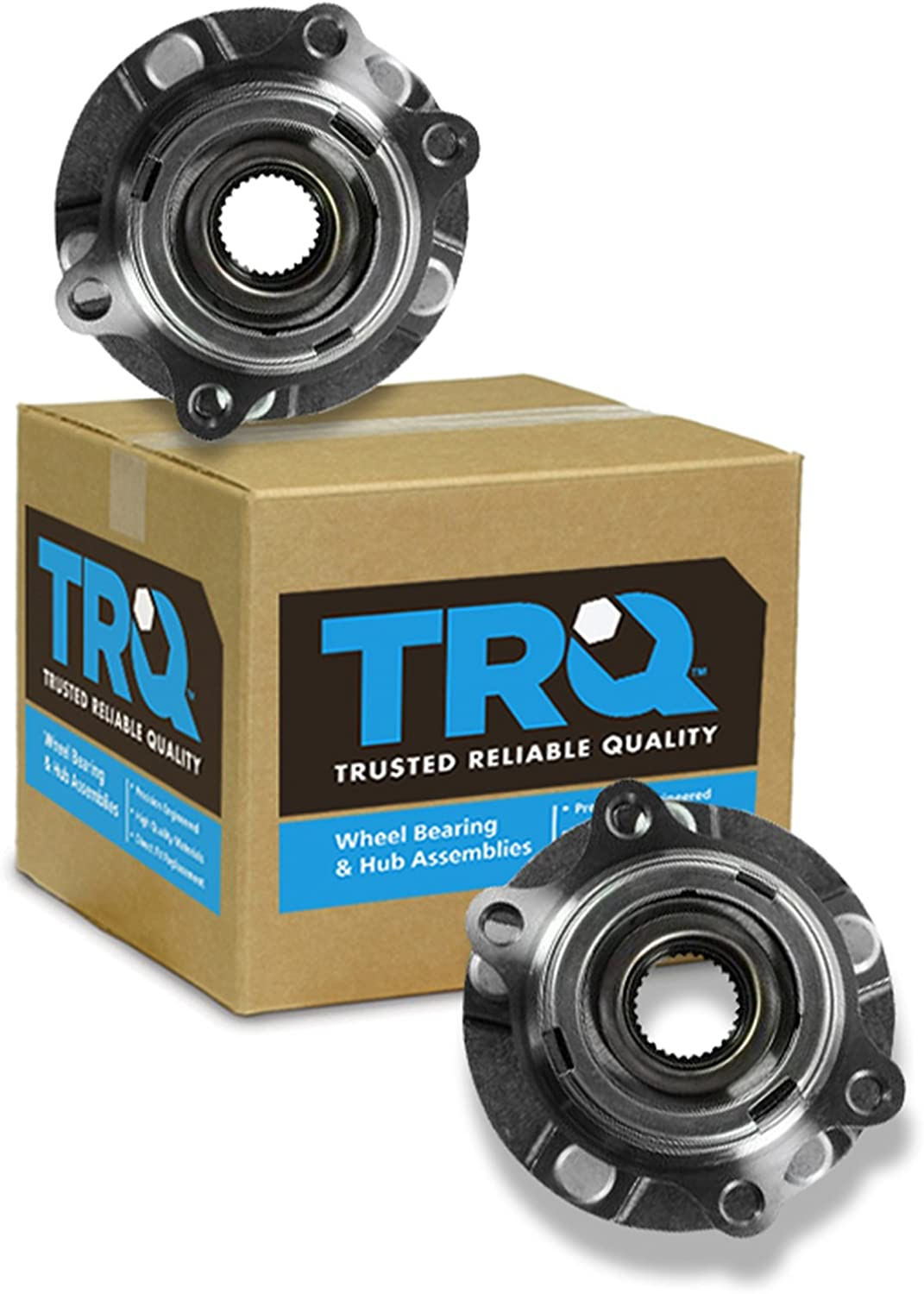 TRQ Wheel Hub /& Bearing Front Left LH or Right RH for 07-12 Altima w//ABS 2.5L