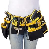 UKCOCO Elektrikçi alet kemeri, alet çantası, kemer çantası, bel kemeri, inşaat işçileri, teknisyenler, bahçe işçileri…