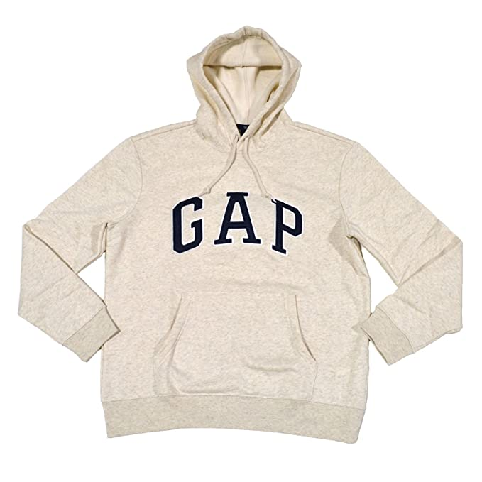 ede8d618c4bb Image Unavailable. Image not available for. Color  GAP Mens Fleece Arch Logo  Pullover Hoodie ...