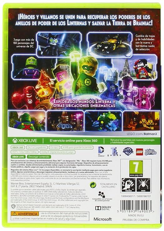 Lego Batman 3 Mas Alla De Gotham Microsoft Xbox 360 Amazon Es