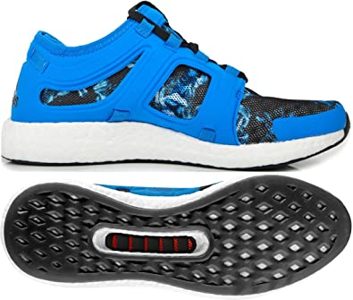 8c86a37b6bdc adidas Climachill Rocket Boost Mens Running Shoes - Blue  Amazon.co ...