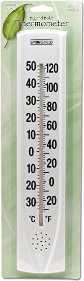 SPRINGFIELD TAP90007 Big and Bold Thermometer