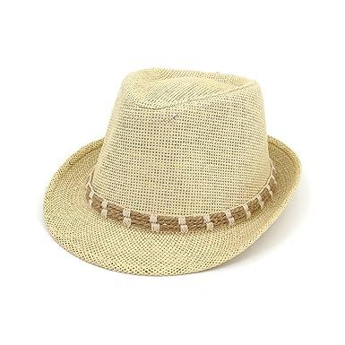 Sonnenhüte Bekleidung Zubehör Sommer Männer Der Sonne Hut Kappe Handgemachte Stroh Hüte Männer Der Mode Sommer Lässig Hut Mode Strand Sonnenhut