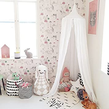 Bed Canopy Block Out Light Dome Princess Mosquito Net Equip With Assembly Tools Cotton  sc 1 st  Amazon.com & Amazon.com: Bed Canopy Block Out Light Dome Princess Mosquito Net ...