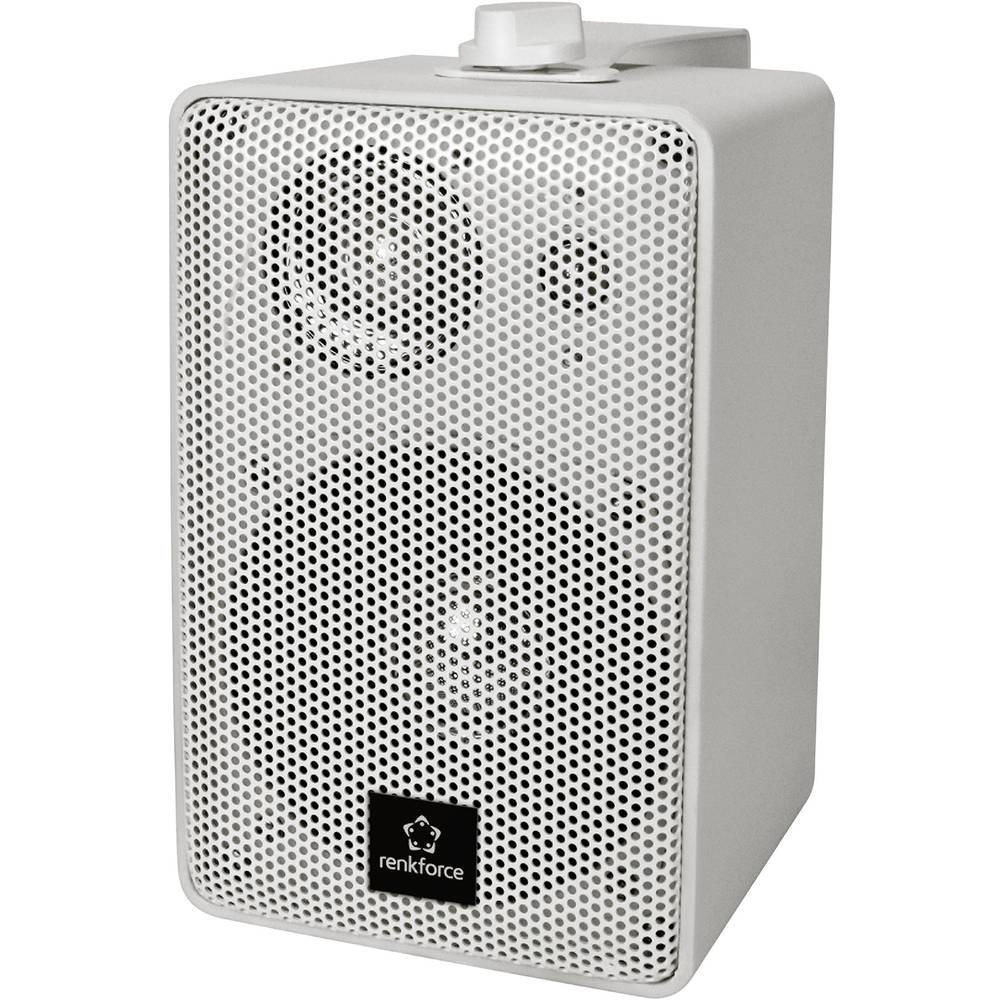Renkforce RL100W WH Regallautsprecher, 100 W, 90 - 20000 Hz, 1 par