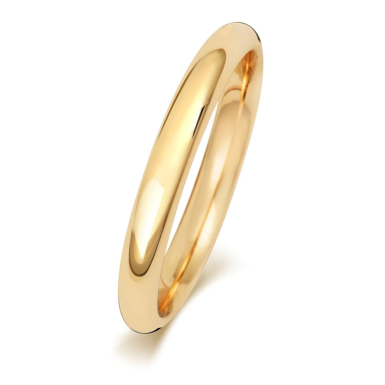 Anello Fede Nuziale Uomo/Donna 2, 5mm in Oro giallo 9k (375) WJS24279KY