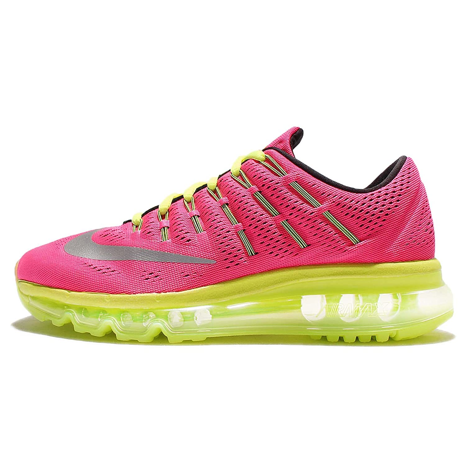 on sale aa0d8 f5bbc Nike Air Max 2016 (GS), Girls  Running Shoes, Pink (Hyper Pink   Reflect  Silver-Volt-Black), 3 UK (35.5 EU)