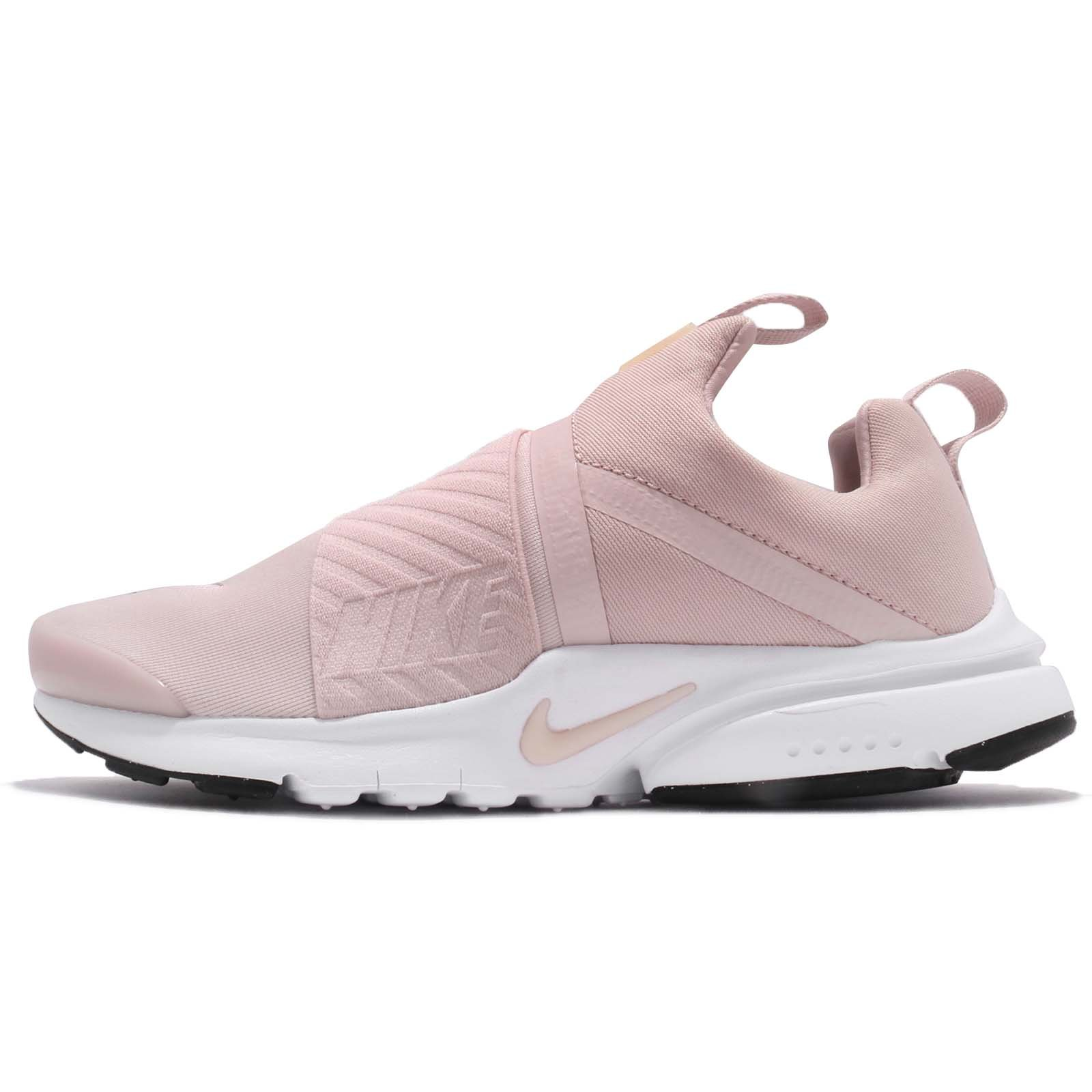 NIKE Kid's Presto Extreme GS, Barely Rose/Barely Rose-White-Black Size US 7 by NIKE