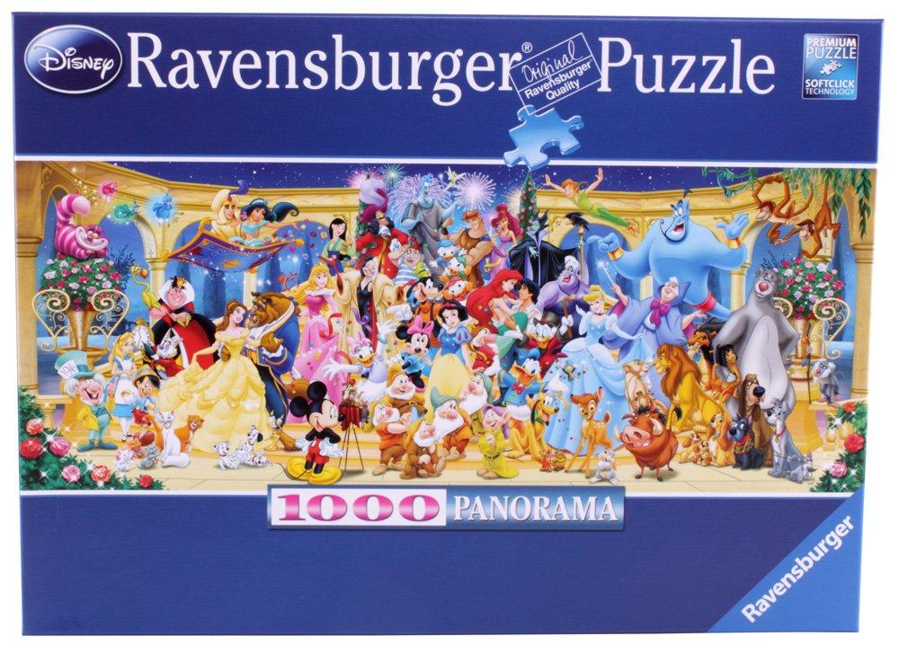 Amazon ravensburger disney panoramic jigsaw puzzle 1000 piece amazon ravensburger disney panoramic jigsaw puzzle 1000 piece toys games gumiabroncs Images