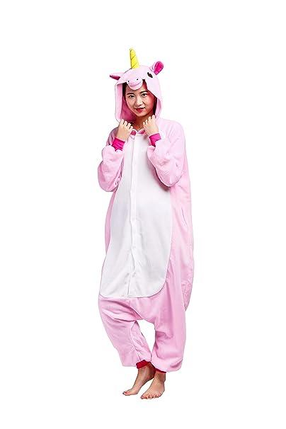 Pijama Unicornio Kigurumi Onesie Adultos Mujer Cosplay Animal ...