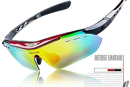 Caracol tienda Gafas de sol deportivas 6 Lentes ...