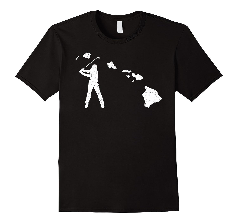 Hawaii Golf Shirt: Funny State Player Gift Love T-Shirt-T-Shirt