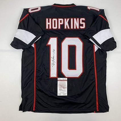 Autographed/Signed DeAndre Hopkins Arizona Black Football Jersey ...