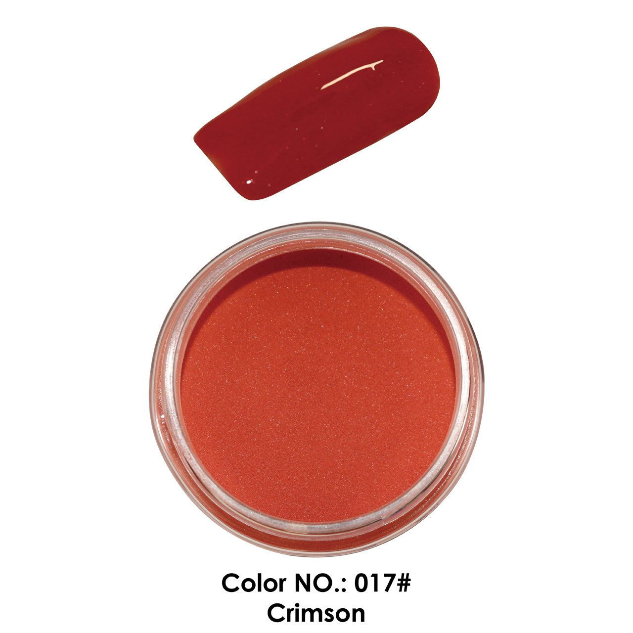 C & I Dipping Powder Color No.017 Crimson Red Color System Fulei Trading