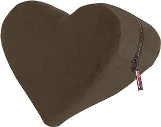 product image for Liberator Decor Heart Wedge Pillow, Espresso Velvish