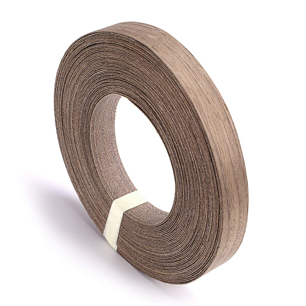 Edge Supply Walnut 3//4 X 50 Roll Preglued Made in USA Smooth Sanded Finish Veneer Edging Wood Veneer Edge Banding Flexible Wood Tape Easy Application Iron On with Hot Melt Adhesive