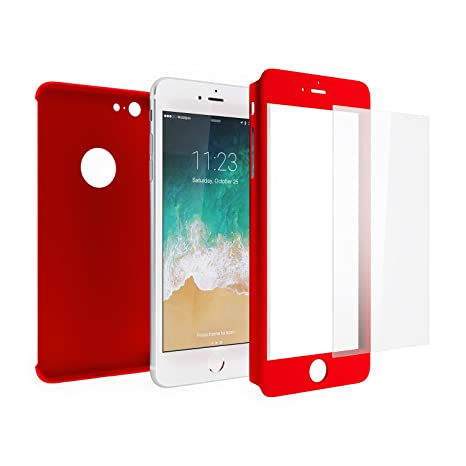 custodia iphone 6 plus rossa