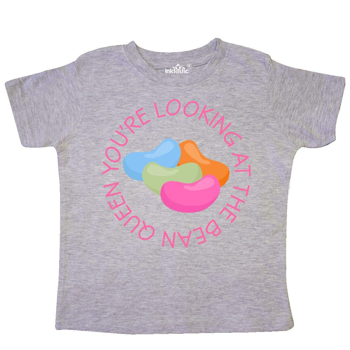 inktastic Easter Holiday Jelly Bean Queen Toddler T-Shirt