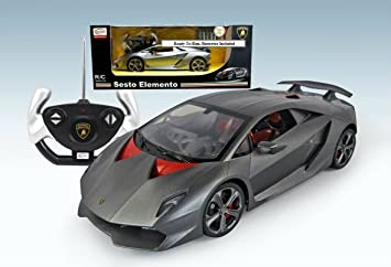 Amazon Com 1 14 Remote Control Lamborghini Sesto Elemento Ready To