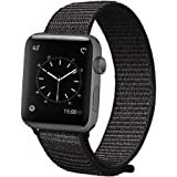 Sport Loop Band for Apple Watch 42mm 38mm, Lightweight Breathable Nylon Sport Strap Replacement Bands for iWatch Apple Watch Series 3, Series 2, Series 1