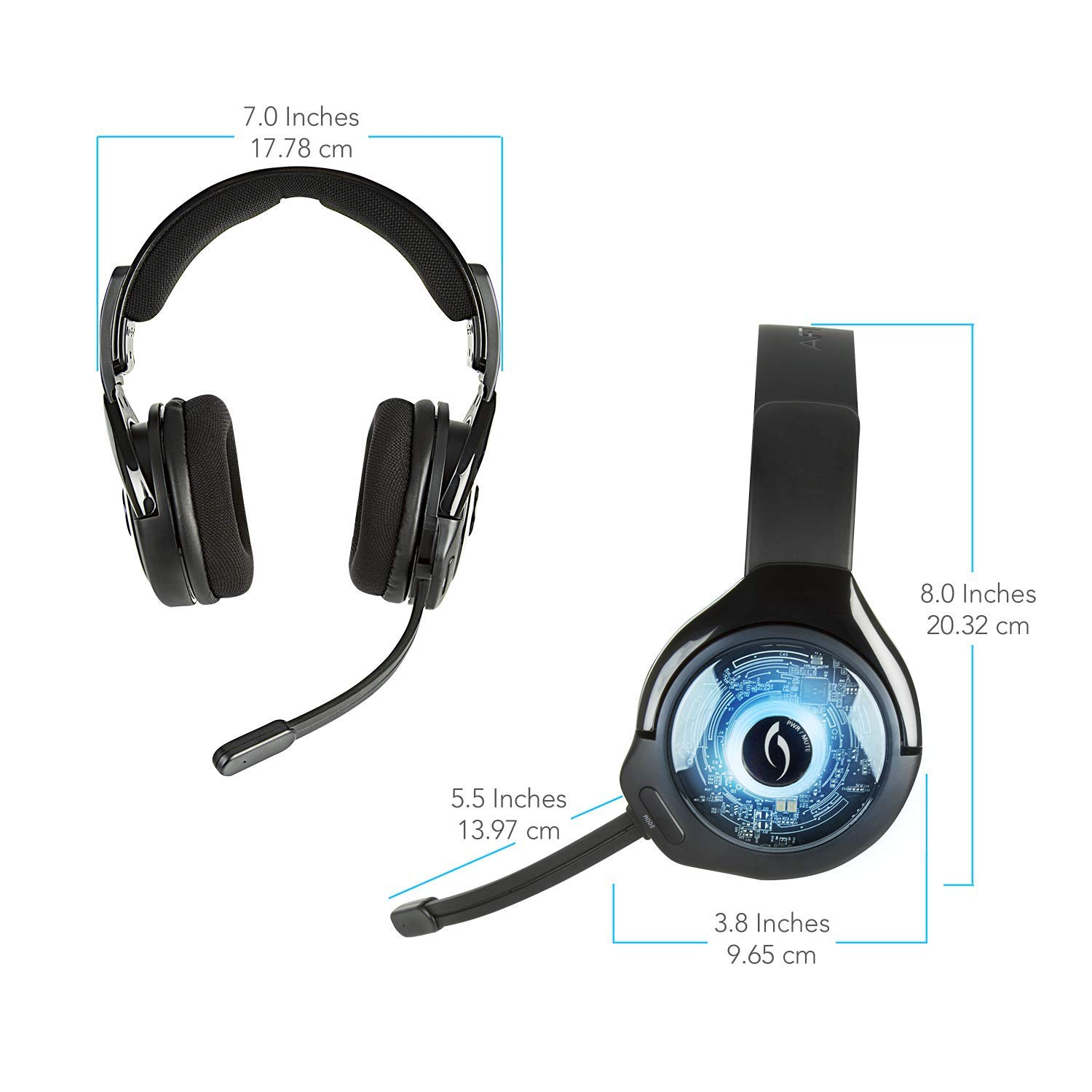 PDP Headset Afterglow Wireless AG 9+ PS4