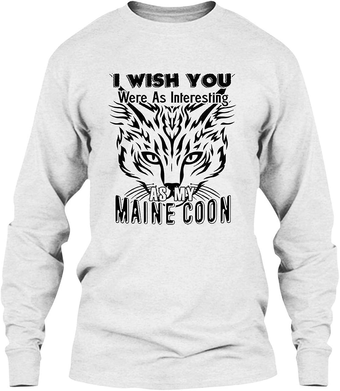 Maine Coon Long Sleeve T-Shirt