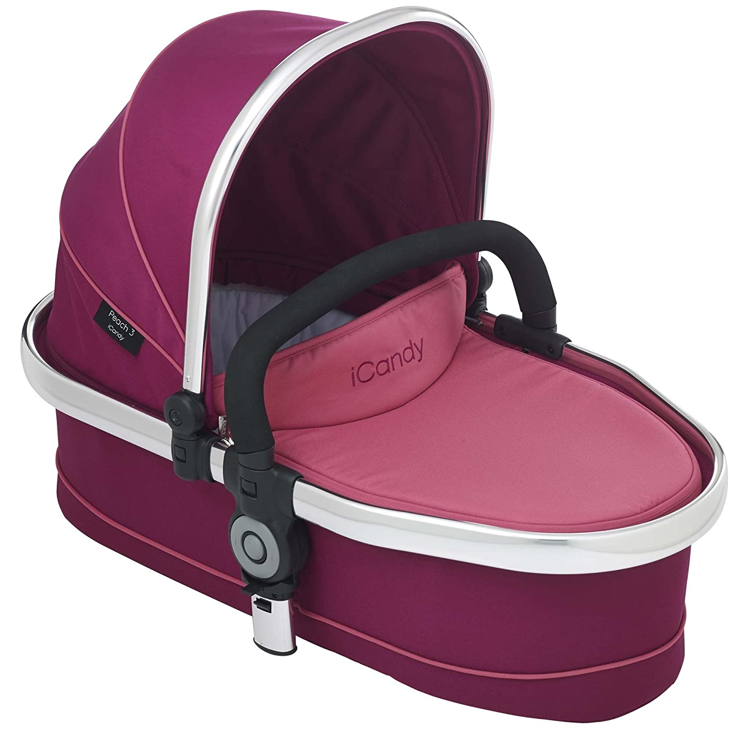 iCandy Peach 3 Twin Carrycot Only in Fuchsia