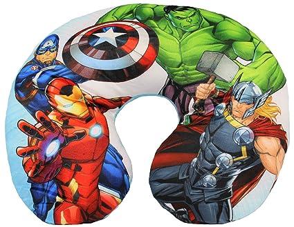 Marvel Avengers Neck Pillow Almohada de Viaje para niños ...