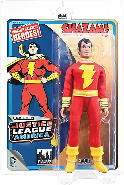 Justice League of America Action Figure Series Loose Factory Bag Shazam