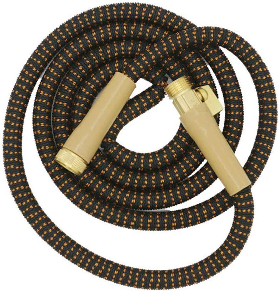 DXQDXQ Hosepipes Garden Hose Expandable Flexible Hose Heavy Duty Leakproof Hose High-Pressure without Spray Sprinkler No Kink Tangle Water Hose Extra No-Kink (Color : 15M) 22.5m