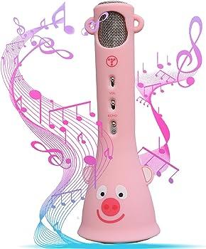 Tossing Wireless Silicone MicrophoneBluetooth Karaoke Machine