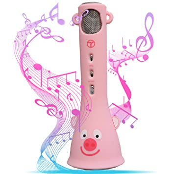 Top Ten Christmas Gifts 2019.Tosing Wireless Karaoke Microphone For Kids Top Birthday Gifts For Girls 2019 Best Present Toys For Kids Girls 4 5 6 7 8 9 Years Old For 10 11 12