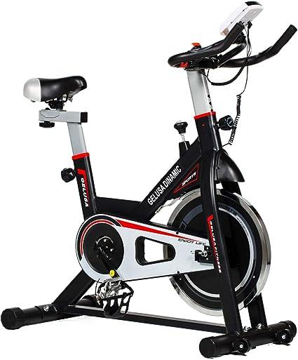 GELUSA Bicicleta de Ciclo Indoor Spinning: Amazon.es: Deportes y ...