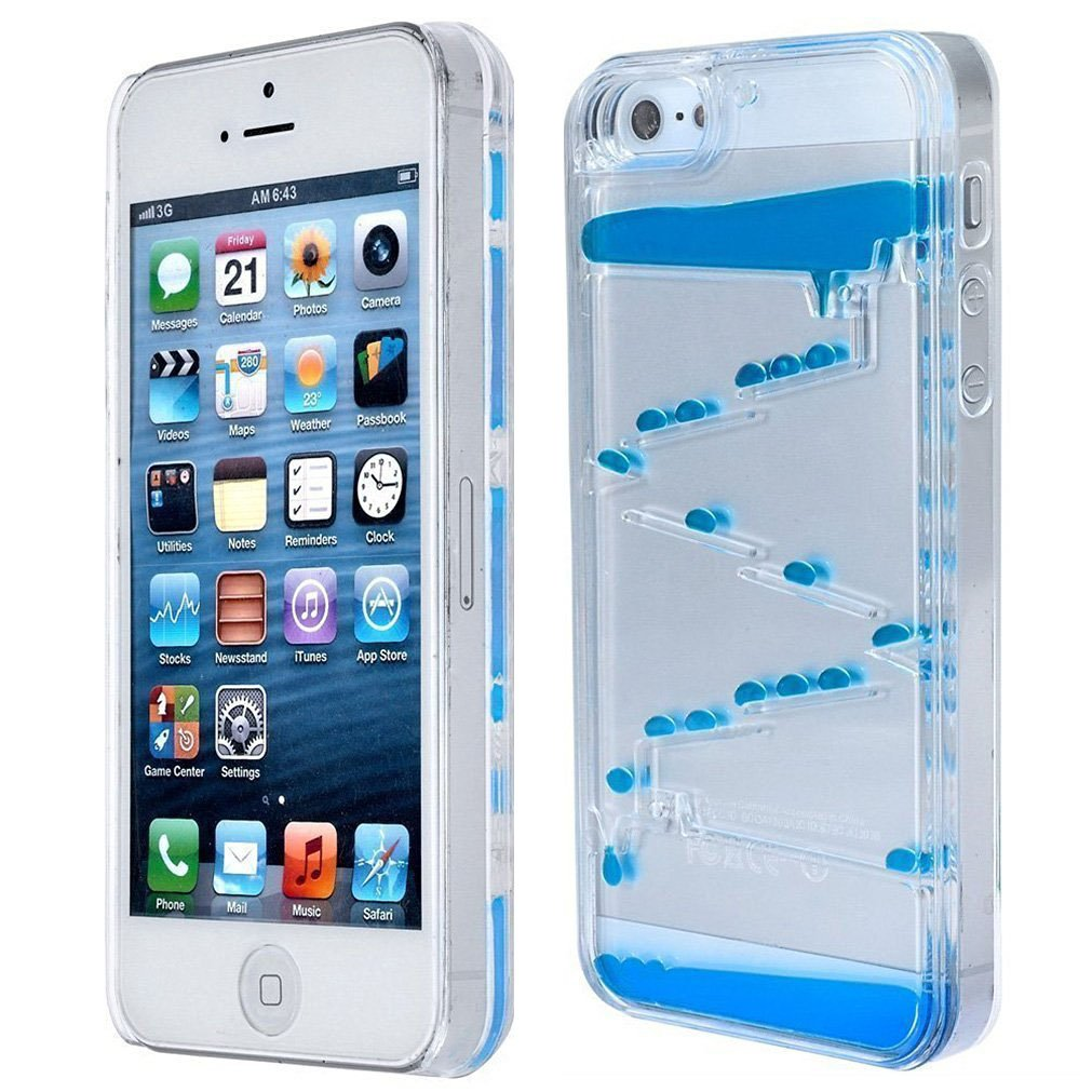 Amazoncom Iphone 5s Case Hhyct Liquid Quicksand Moving Stars 3d