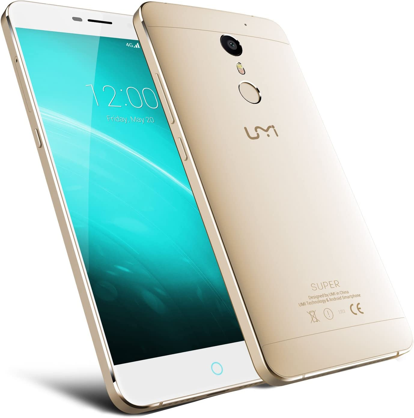 UMI Super Android 6.0 Smartphone simlockfrei Dual SIM 4000 mAh ...