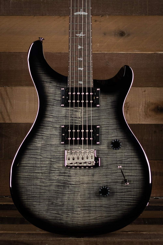 PRS SE Custom 24 Electric Guitar (Charcoal Burst)