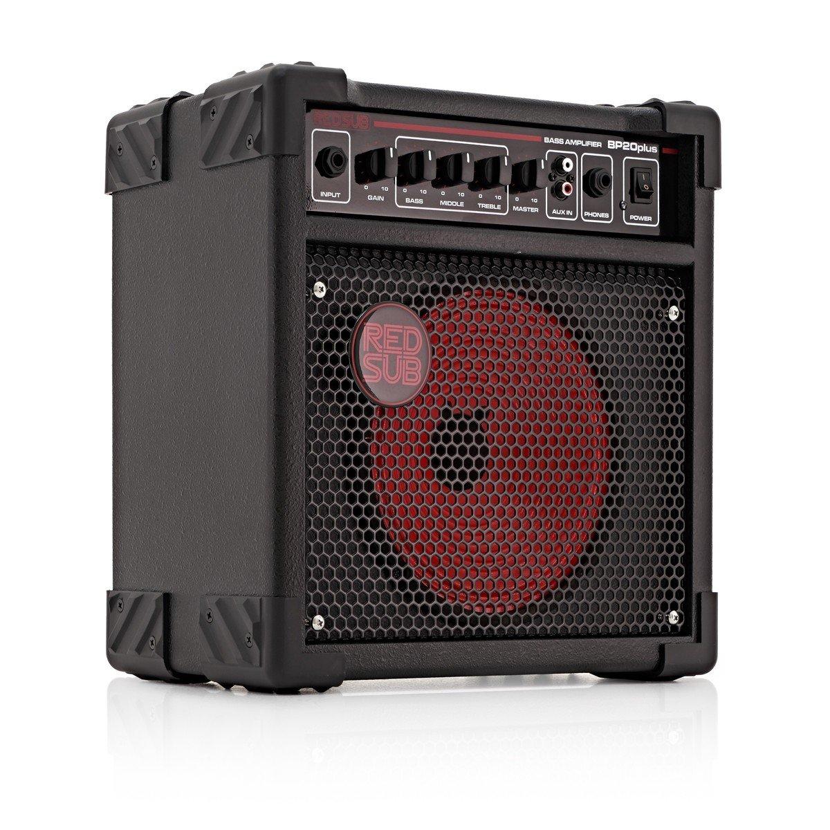 RedSub BP20plus Amplificador de Bajo 20 W: Amazon.es: Instrumentos musicales