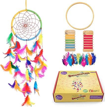 Asian Hobby Crafts DIY Premium Dream Catcher Kit Make one Complete Dream Catcher Blue