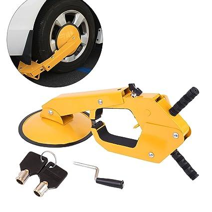 Paneltech - Bloqueo de rueda antirrobo: Amazon.es: Coche y moto