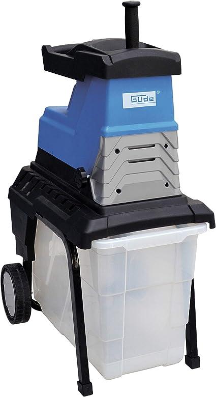 Güde 94375 Triturador de jardín GH2800SUPER SILENT, 2800 W, 230 V, Azul
