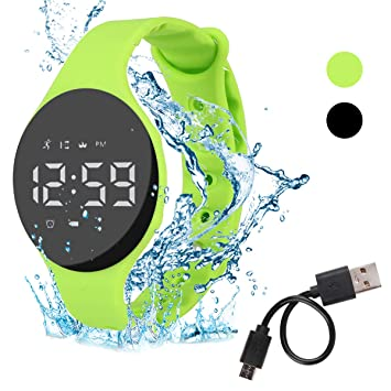Hootracker Pulsera Actividad Impermeable IP68 Fitness Smartwatch ...
