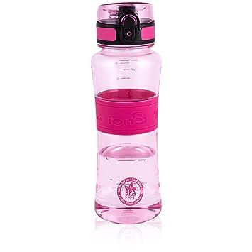 ion8 Ultimate ionizante Deportes botella de agua , Unisex, Ultimate Ionizing, rosa, 550
