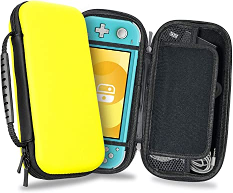Funda para Nintendo Switch Lite - Transporte Dura de Viaje para Juegos Carcasa de Protección Rigid Lite para Consola Cable Nintendo Switch Lite y Accesorios de YOUSHARES (Yellow): Amazon.es: Videojuegos