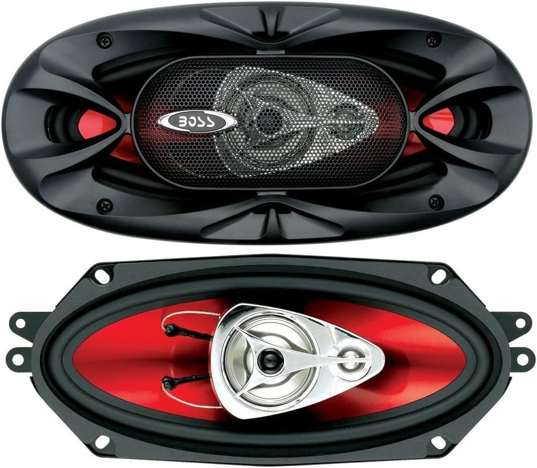 BOSS Audio CH6530 Chaos Exxtreme 4 Serie 3 Wege Lautsprecher 300 Watt