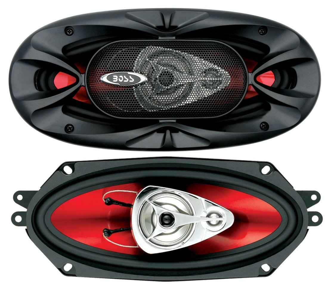 BOSS Audio Systems CH4330 Car Speakers - 400 Watts of Power Per Pair and 200 Watts Each, 4 x 10 Inch, Full Range, 3 Way, Sold in Pairs, Easy Mounting by BOSS Audio Systems